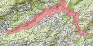 Von Kennelbach bis zur Rotachmündung erstreckt sich das Natura 2000 Gebiet Bregenzerachschlucht.